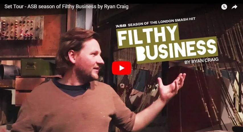 Join Set Designer Daniel Williams for a tour of the set of the ASB season of Filthy Business!